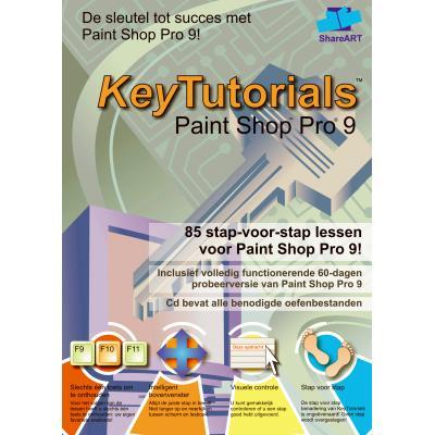 Shareart educatieve software: Keytutorials, Paint Shop Pro 9  NL