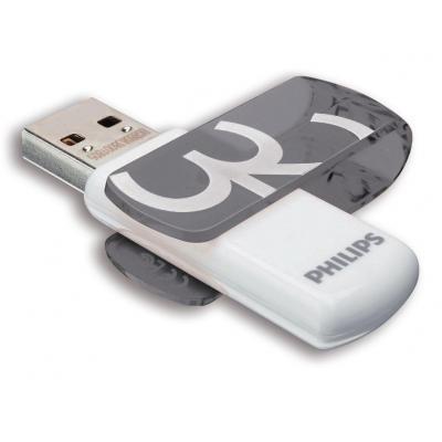 Philips FM32FD05B/00 USB flash drive - Oranje, Wit