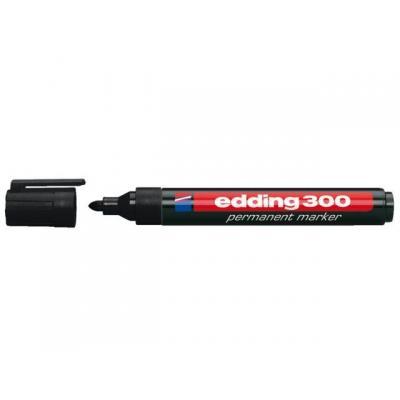 Edding markeerstift: OFC-ED300BK - Zwart