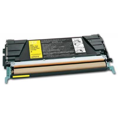 Ibm Return Program Extra High Yield Toner Cartridge, Yellow toner - Geel