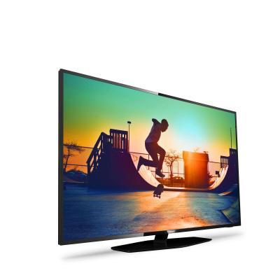 Philips led-tv: 6000 series Ultraslanke 4K Smart LED-TV 43PUS6162/12 - Zwart