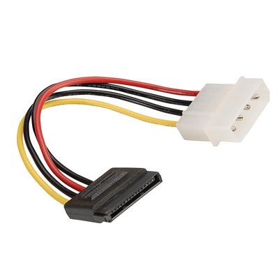 ROLINE Adapterkabel 4 pol. HDD / SATA F - Zwart, Rood, Wit, Geel
