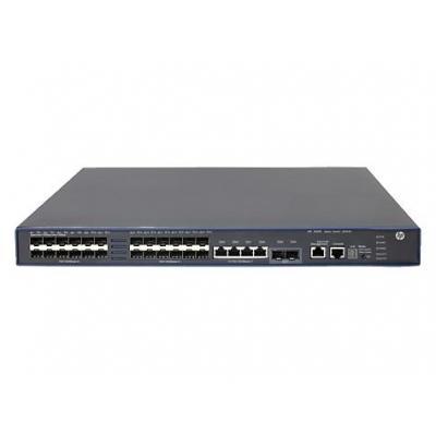 Hewlett Packard Enterprise 5500-24G-SFP HI w/2 Interface Slots Exchange Unit Switch - Grijs