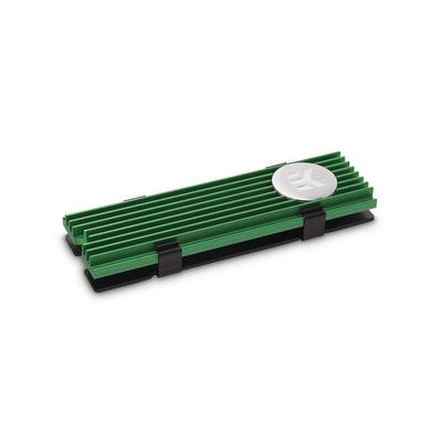 EK Water Blocks EK-M.2 NVMe Heatsink - Green Hardware koeling - Zwart,Groen