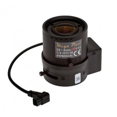 Axis Mega Pixel Camera lens - Zwart, Transparant