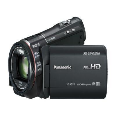 Panasonic digitale videocamera: HC-X920 - Zwart