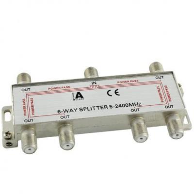 Ligawo kabel splitter of combiner: 6552103 - Zilver