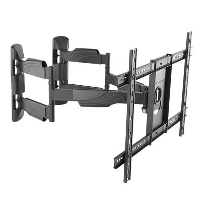 """LogiLink TV wall corner mount, tilt -8°/+5°, swivel -90°/90°, level adjustment -5°/+5° 37–70"""", max. ....."""
