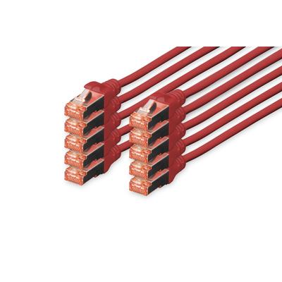 Digitus DK-1644-020-R-10 UTP-kabels