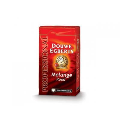 Douwe egberts drank: Koffie DE snelfiltermaling rood 250g