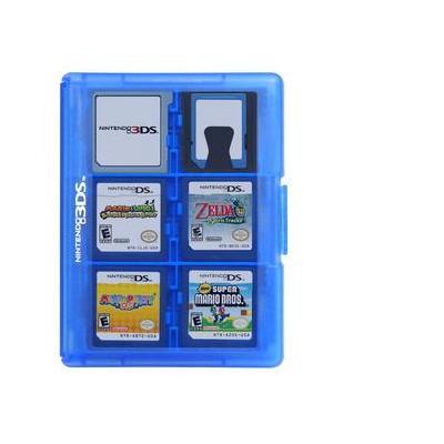 Hori : 3DS Game Card Case 24 (Blue) - Blauw