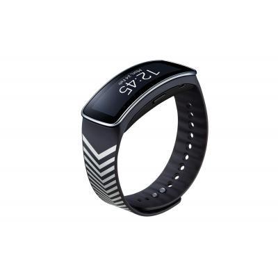 Samsung horloge-band: ET-SR350R - Antraciet, Zilver