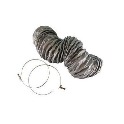 Hq keuken & huishoudelijke accessoire: Ventilation hose +2 klem SE - Zilver