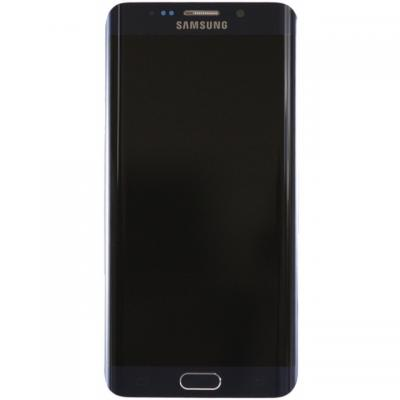 Samsung mobile phone spare part: G925F Galaxy S6 Edge LCD Display Module - Zwart