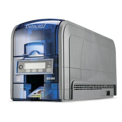 DataCard SD360 Plastic kaart printer - Zwart, Blauw