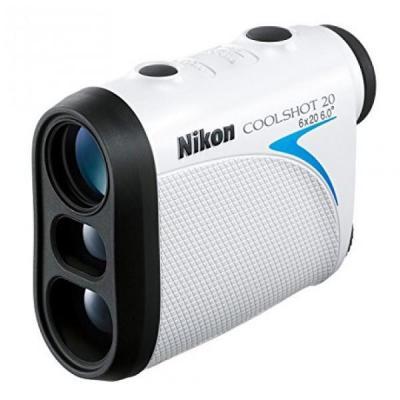 Nikon afstandmeter: Coolshot 20 - Zwart, Blauw, Wit