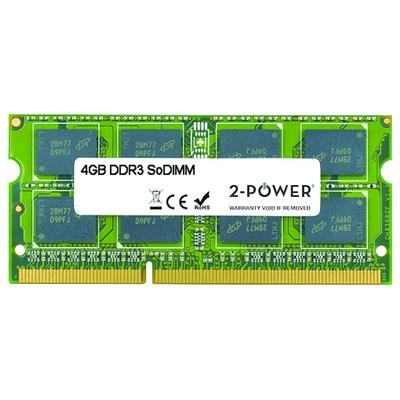 2-Power 4GB MultiSpeed 1066/1333/1600 MHz SoDIMM Memory RAM-geheugen - Groen
