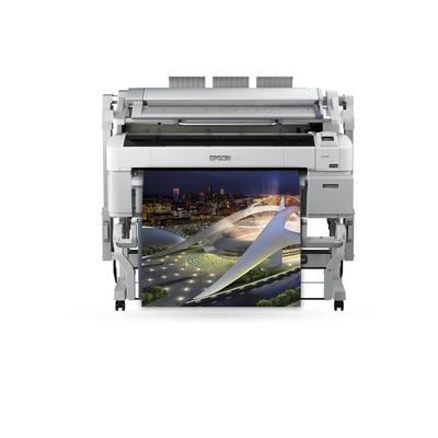 Epson SureColor SC-T5200D MFP PS Grootformaat printer - Cyaan, Magenta, Mat Zwart, Foto zwart, Geel