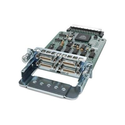 Cisco interfaceadapter: 4-Port Serial High-Speed WAN Interface Card - Roestvrijstaal (Open Box)