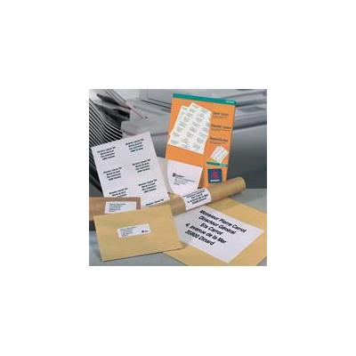 Avery Laser Labels, White 210 x 297 DP001 A4 100ST Etiket
