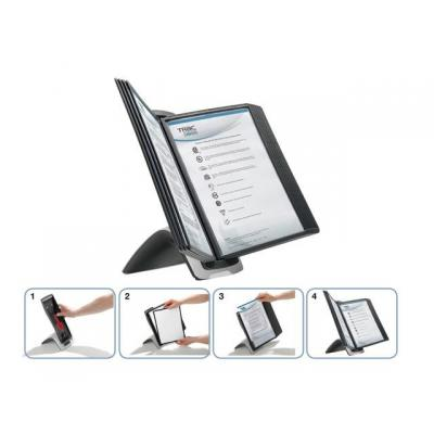 Durable burea accessoire: Bureaustandaard Sherpa Style 5855 +10p