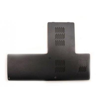 Dell notebook reserve-onderdeel: RAM & Hard Drive Door Cover, Black - Zwart