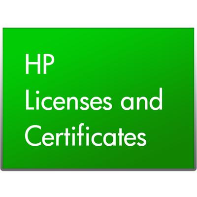 Hewlett Packard Enterprise BD738AAE software licentie