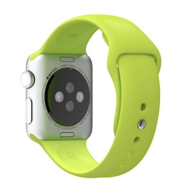 Apple horloge-band: 38mm Green Sport Band - Groen