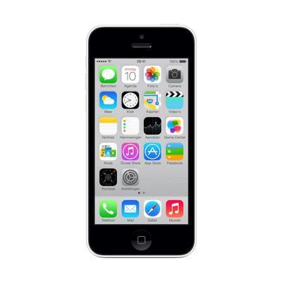 Apple smartphone: iPhone 5c 16GB - Wit (Refurbished LG)