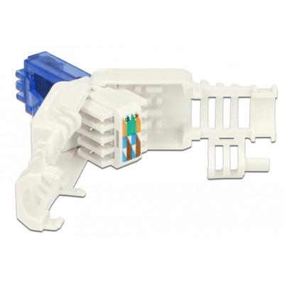 DeLOCK 86417 Kabel connector - Blauw, Wit