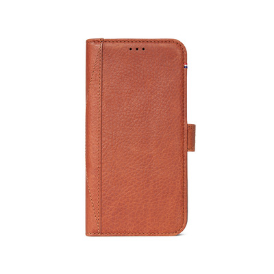 Leather Wallet Booktype iPhone Xs Max - Bruin / Brown Mobile phone case