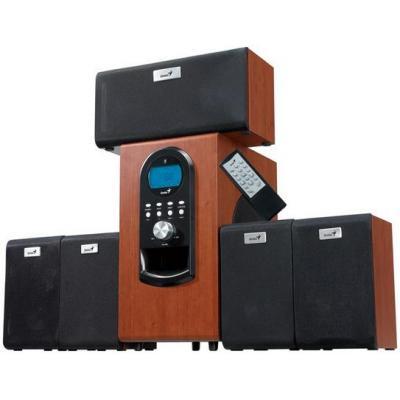 Genius luidspreker set: SW-HF5.1 6000 - Hout
