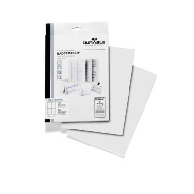 Durable 142002 printeretiketten