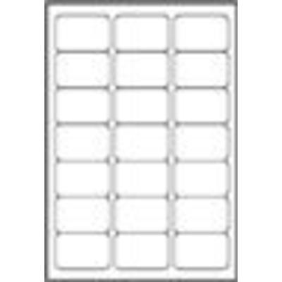 Avery adreslabel: White Address Label - Inkjet - J8160 - Wit