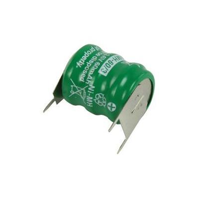 HQ batterij: Ni-MH backup-batterij 3.6 V 60 mAh - Groen