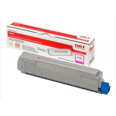 OKI cartridge: Magenta Toner Cartridge for C8600