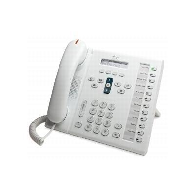 Cisco dect telefoon: Unified IP Phone 6961, Standard Handset - Wit