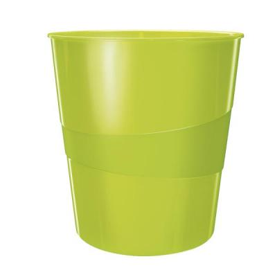 Leitz prullenbak: WOW Waste Bin - Groen