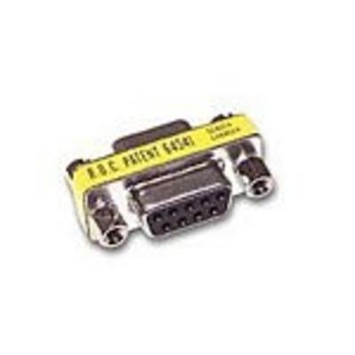 C2G DB9 F/F Mini Changer Kabel adapter - Zilver