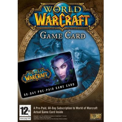 Blizzard hardware: World of Warcraft, Pre-Paid Game Card (60 Dagen)  PC