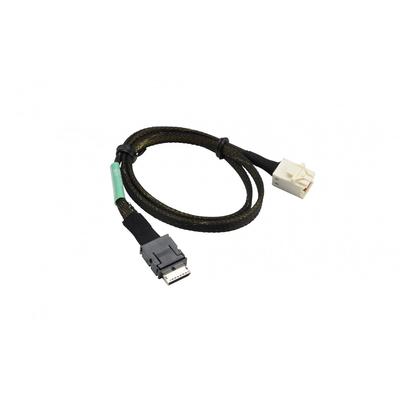 Supermicro OCuLink Cable, 57cm, RoHS, REACH Kabel - Zwart