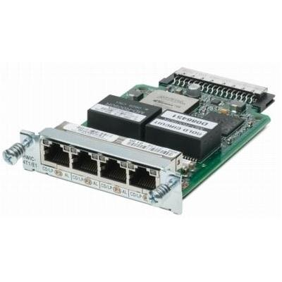 Cisco switchcompnent: 4-Port T1/E1 Clear Channel High-Speed WAN Interface Card