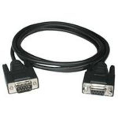 C2G 1m DB9 M/F Cable Seriele kabel - Zwart