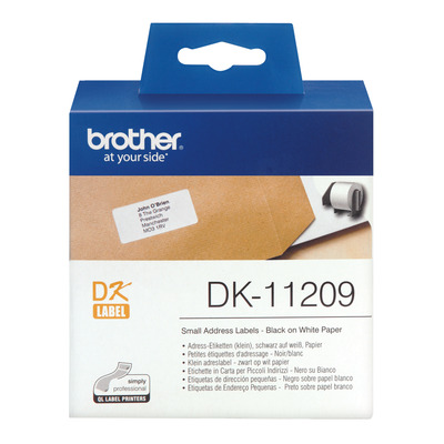 Brother DK-11209 Labelprinter-tapes