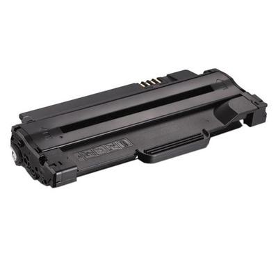DELL 1500-Page Black Cartridge for 1130, 1130n, 1133, and 1135n Laser Printers Toner - Zwart