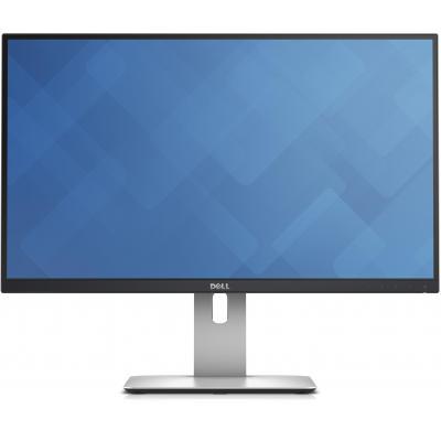 DELL monitor: UltraSharp U2515H - Zwart, Zilver