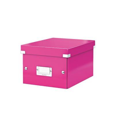 Leitz archiefdoos: Click & Store WOW Small - Roze