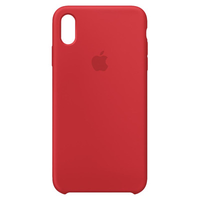 Apple Siliconenhoesje voor iPhone XS Max - (PRODUCT)RED mobile phone case - Rood