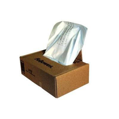Fellowes papier-shredder accesoire: Opvangzakken voor papiervernietigers - Transparant