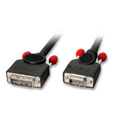 Lindy 5m DVI-A/VGA - Zwart